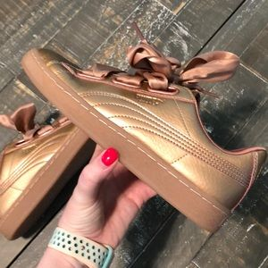 Puma Rose Gold Sneakers